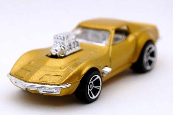 Hot Wheels 2017 gas monkey garage /' 68 Corvette HW screen time 3//10 dhn90